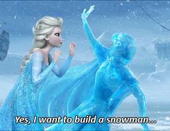 frozen, snowman, frozen GIFs