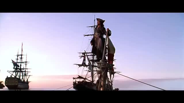 Watch and share Captain Jack Sparrow - Legendary First Appearance Intro Scene (Pirates Of The Caribbean) Full HD GIFs on Gfycat