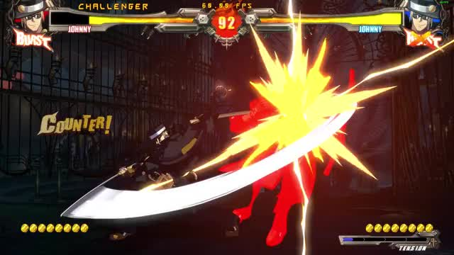 Watch and share Guilty Gear GIFs and Johnny GIFs by sneorino on Gfycat