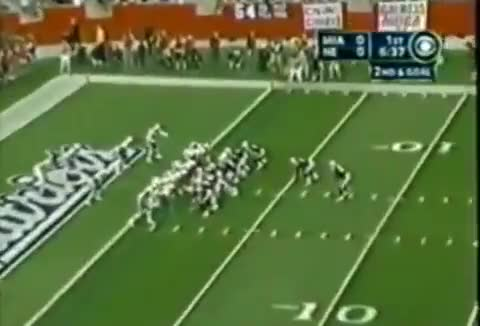 Watch and share TB 1yd TD To Graham (MIA) GIFs by patsnation11 on Gfycat