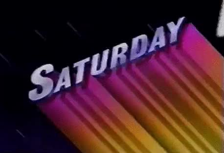 Watch this saturday GIF by Reactions (@sannahparker) on Gfycat. Discover more 80s, retro, saturday, vintage, weekend GIFs on Gfycat