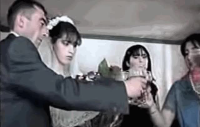 Watch and share Wedding Toast GIFs on Gfycat