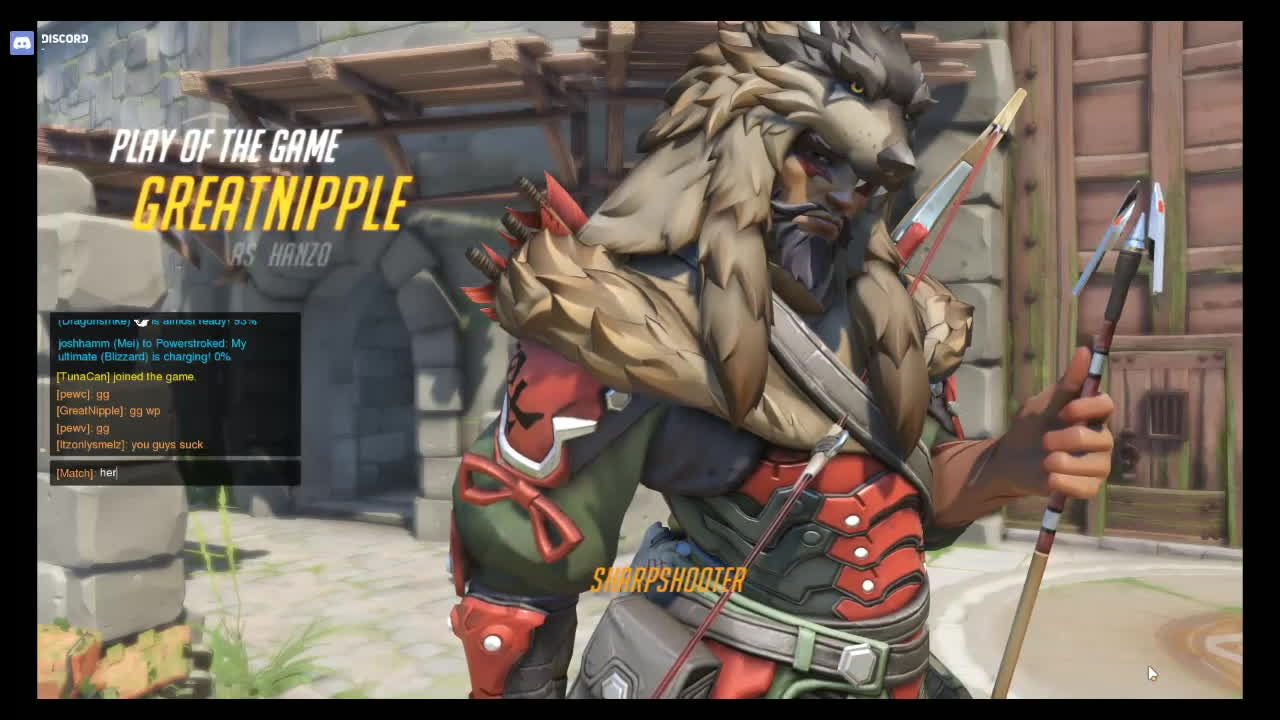 Hanzo Play of the Game