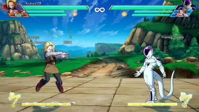 Watch A18 GIF by @duckert on Gfycat. Discover more Dragon Ball FighterZ, dbfz GIFs on Gfycat