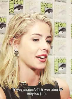 "Watch Emily Bett Rickards and Stephen Amell about the""sunset"" scen GIF on Gfycat. Discover more 1k, 500, Arrow, Arrow cast, Emily Bett Rickards, Olicity, SDCC 2015, Stephen Amell, arrowedit, emilybettedit, gif[3], stephenamelledit, that took me like three hours bc my laptop crashed three times hope y'all like that crap GIFs on Gfycat"