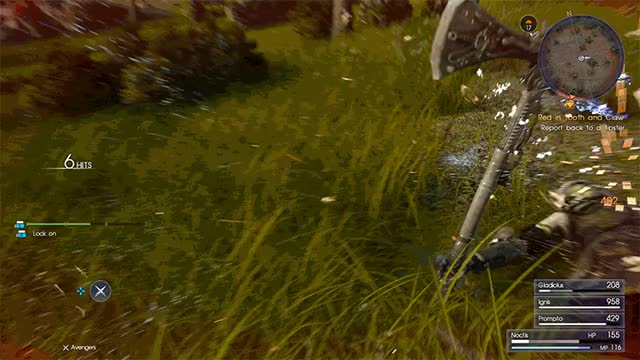 Watch and share Final-fantasy-15-first-person GIFs on Gfycat