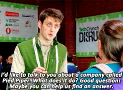 Watch Silicon Valley S01E08 |We've got a great name, we've got a g GIF on Gfycat. Discover more donald dunn, gif, hbo, his eyes are so blue, jared dunn, mine, minesiliconvalley, silicon valley, silicon valley gif, siliconvalleyhbo, zach woods GIFs on Gfycat
