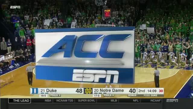 Watch and share Duke Vs Notre Dame Basketball 2017 (Jan. 30) GIFs on Gfycat