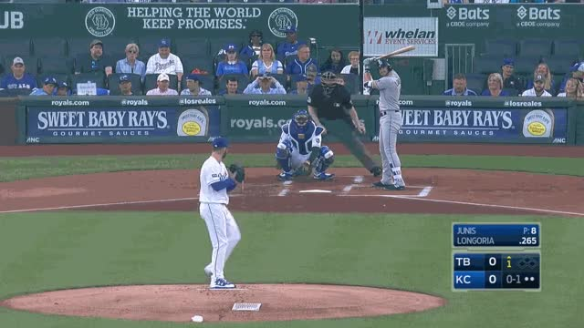 Watch Junis Slider second pitch strike GIF on Gfycat. Discover more related GIFs on Gfycat