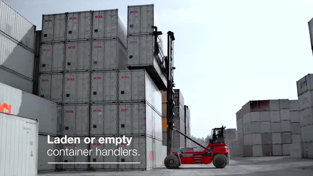 Watch Kalmar counterbalanced container handlers GIF on Gfycat. Discover more Container handling, Kalmar Global, People & Blogs, Reachstacker, counterbalanced container handler GIFs on Gfycat