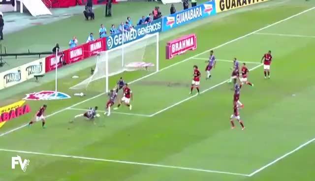 Watch and share Flamengo 2 X 1 Fluminense - Melhores Momentos (1º Tempo) Final Carioca 2017 GIFs on Gfycat