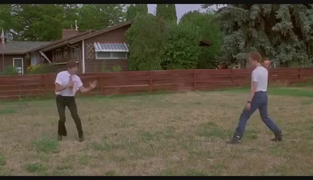 Watch and share Napoleon Dynamite - Napoleon And Uncle Rico Fighting [HD] GIFs on Gfycat