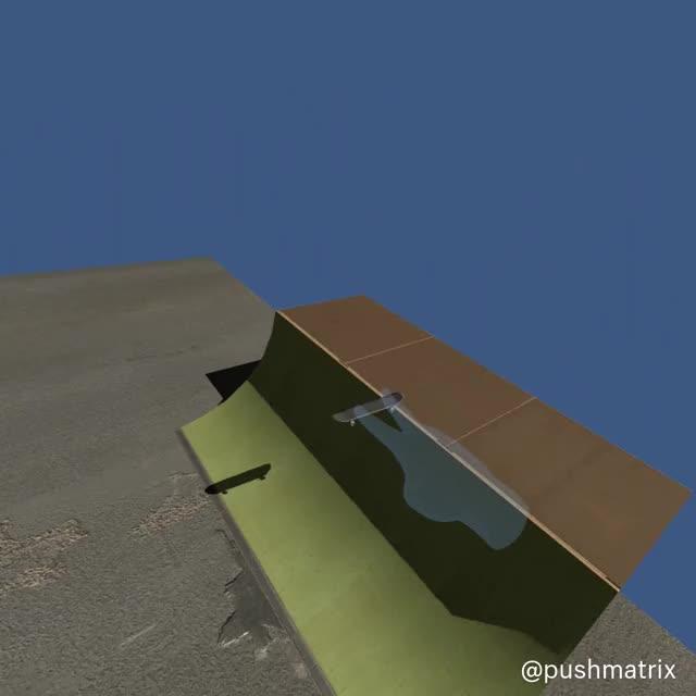 Watch and share Finger Skateboard – Daniel Beauchamp (@pushmatrix) GIFs by benz145 on Gfycat