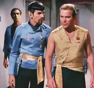 Watch vulcan biology GIF on Gfycat. Discover more James T. Kirk, Jim Kirk, i forgot this was in my folder, kirk, mirror mirror, mirrorverse, my edit, space husbands, spirk, spock, star trek GIFs on Gfycat