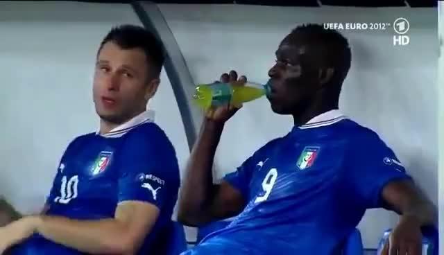 Balotelli Drink GIFs