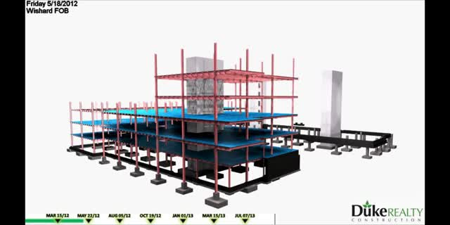 Watch and share BIM 4D Scheduling - Building Information Modeling - Construction Sequencing - ENGworks GIFs on Gfycat