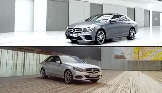 Watch and share 2017 Mercedes E-Class Vs. 2014 E-Class GIFs on Gfycat