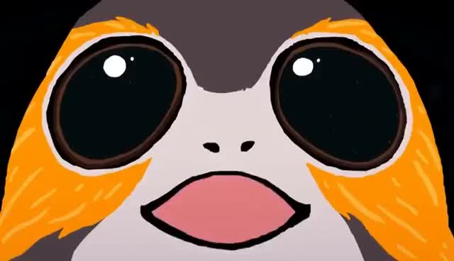 Watch and share Mind Blown Porg GIFs on Gfycat