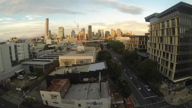Watch Brisbane City Sunset Timelapse GIF by @thelifeaquatic on Gfycat. Discover more related GIFs on Gfycat