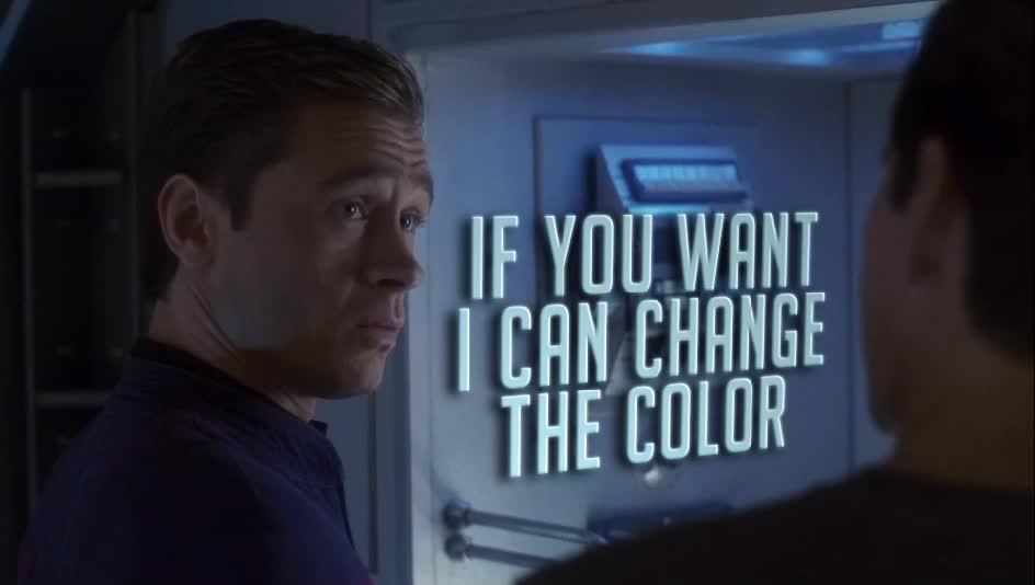 Charles Tucker III, Commander Tucker, Connor Trinneer, ENT, Enterprise, Star Trek: Enterprise, Trip, Trip Tucker, MRW someone criticises my text style in a gif GIFs