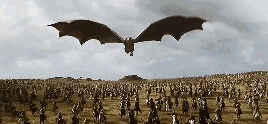 Watch and share Game-of-thrones-dragon-gif-7 GIFs on Gfycat