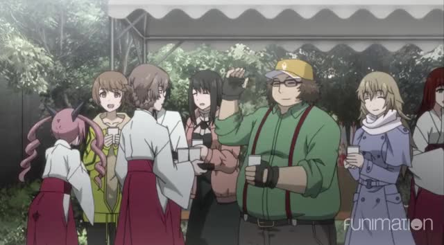 Watch Fun times GIF by Funimation (@funimation) on Gfycat. Discover more Funimation, Steins;Gate, Steins;Gate Episode 6, SteinsGate, anime, sci-fi, scifi GIFs on Gfycat