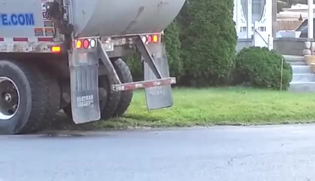 Watch and share Garbage Truck Leaching And Leaking GIFs on Gfycat