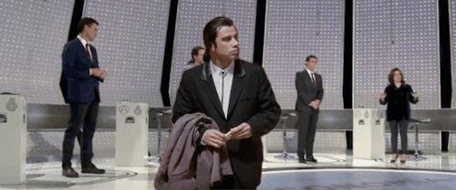 A3Media, Travolta, Debate GIFs
