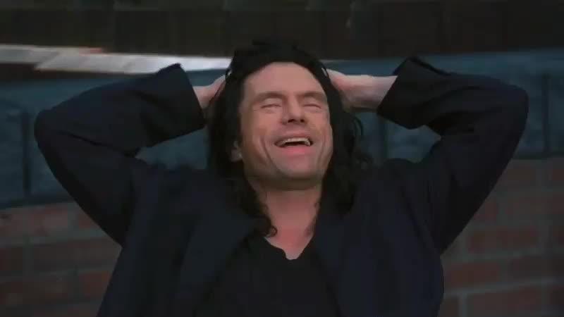 TheRoom, gfycatdepot, story, Ah Ha Ha Ha, what a story, Mark. [The Room] GIFs
