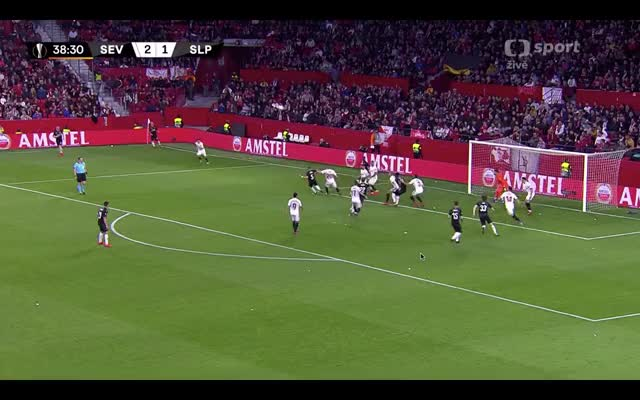 Watch Král goal GIF on Gfycat. Discover more Sevilla, goal, kral, sks, skslaviapraha, slavia, soccer GIFs on Gfycat