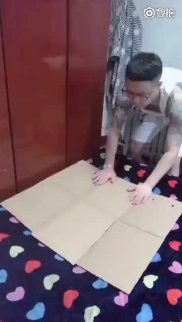 life hack, lifehack, lifehacks, Homemade Shirt Folder  GIFs