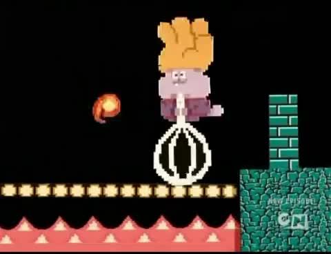 Watch Mario Chowder GIF on Gfycat. Discover more Cartoon Network, CartoonNetwork, Chowder, Chowder Mario, Mario GIFs on Gfycat
