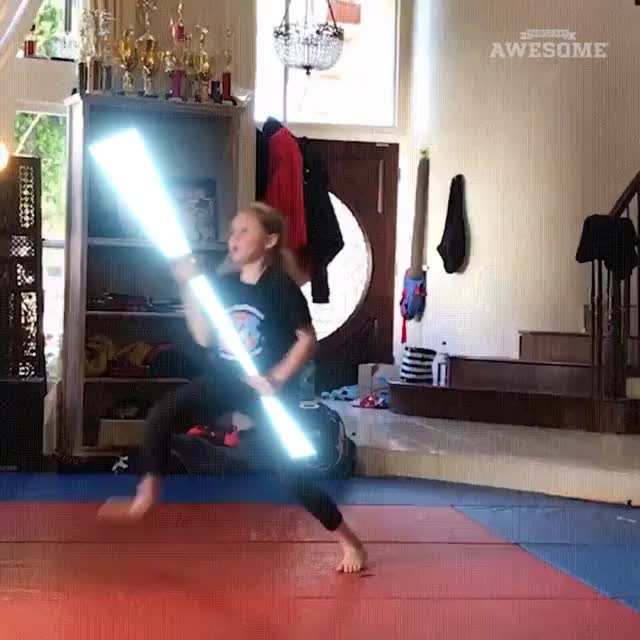 Watch and share Lightsaber 2 GIFs on Gfycat