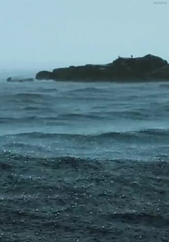 Watch and share Oceanscape GIFs and Rainy Day GIFs on Gfycat