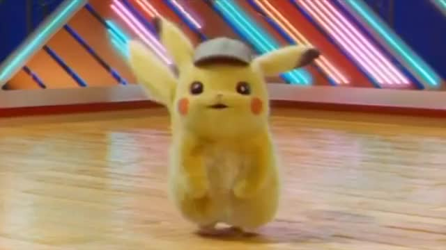 Pikachu Dance working out sweat pokemon pikachu hi hello happy dance happy gym good morning fitness exercise dance awww awesome aerobics GIF