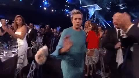 Watch and share Frances Mcdormand GIFs and Sag Awards 2018 GIFs by Reactions on Gfycat