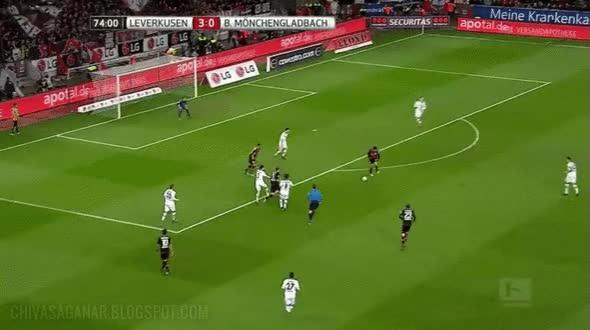 Watch and share Claudio Pizarro De Werder Bremen. GIFs on Gfycat