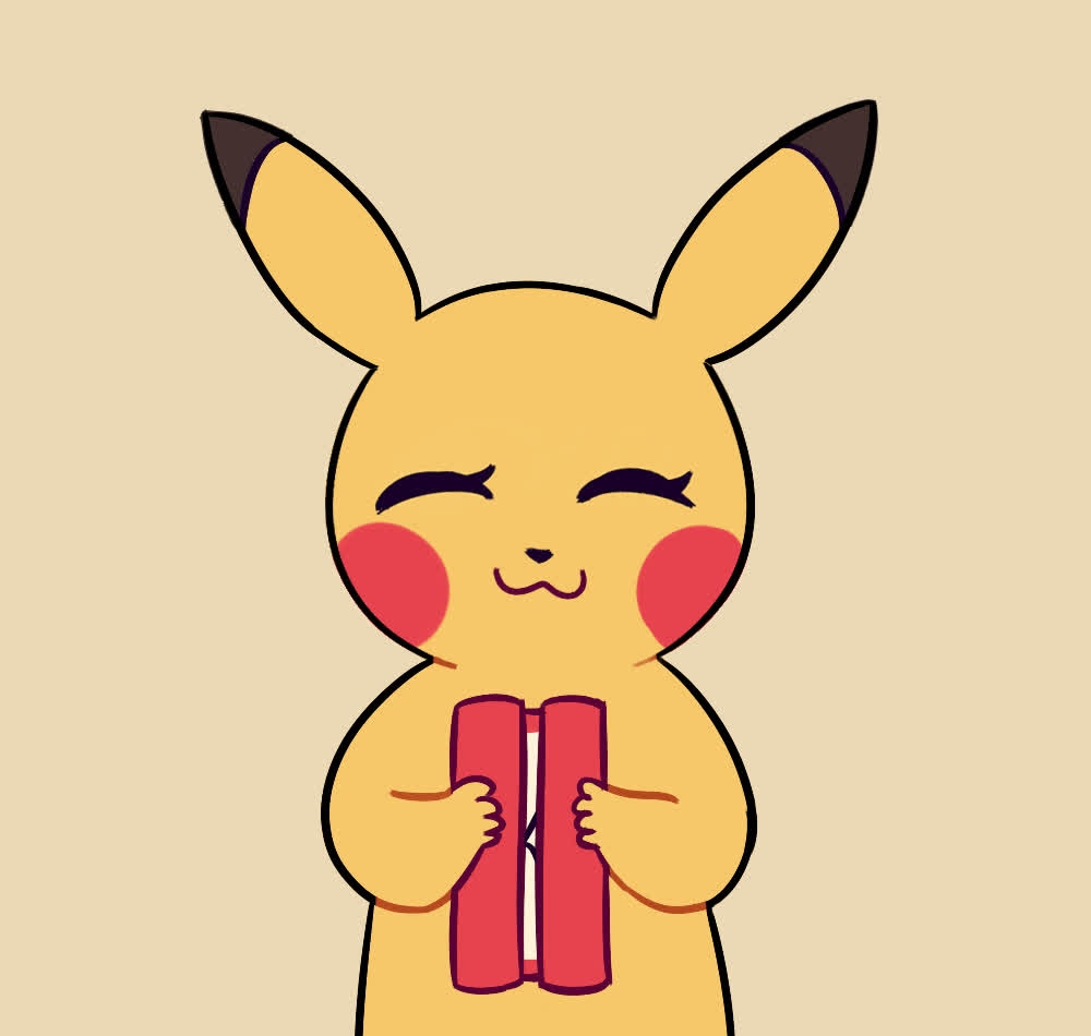 Animated, Cute, Hearts, Pikachu, Pokemon, Thank, Thank you, Thanks, Thankyou, thankyou GIFs