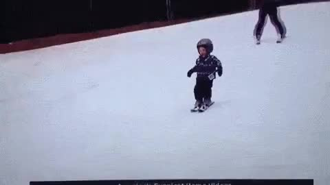 Watch and share Ski Fall GIFs on Gfycat