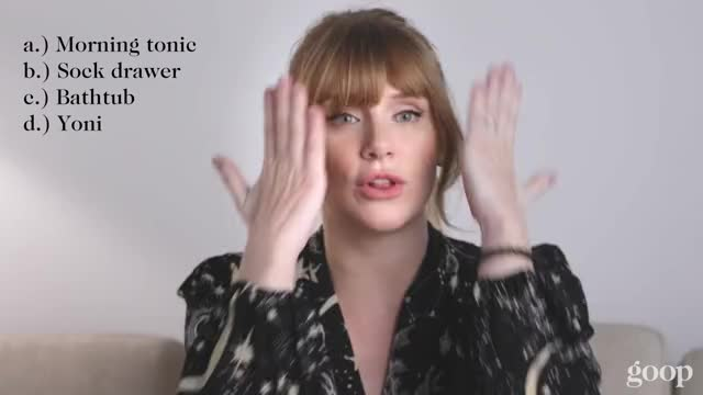 How goopy Are You? Bryce Dallas Howard | goop
