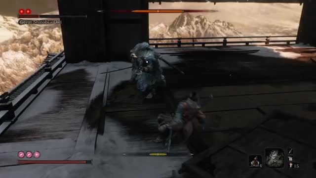 Watch and share Sekiro GIFs and Owl GIFs by Ethu Inc on Gfycat