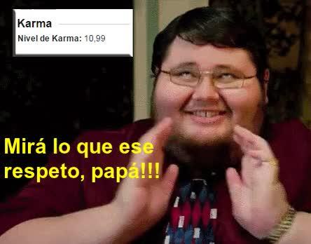 Watch ¡¡¡ PERO MIRA COMO ESTA ESE RESPETO PAPA !!! ..... GIF on Gfycat. Discover more related GIFs on Gfycat