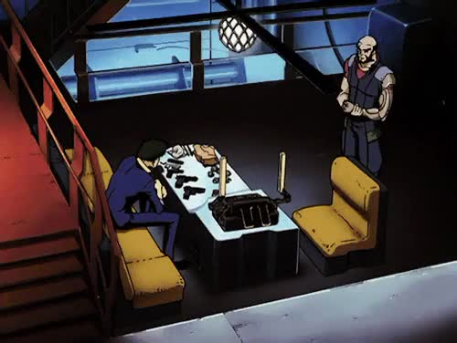 Watch and share Cowboy Bebop GIFs and Spike GIFs on Gfycat