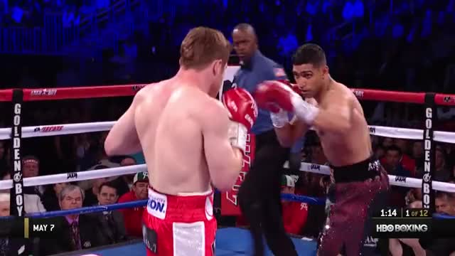 Watch this boxing GIF on Gfycat. Discover more boxing, canelo, film & animation, full fight, hbo boxing, hboboxing, khan, ppv, sports GIFs on Gfycat