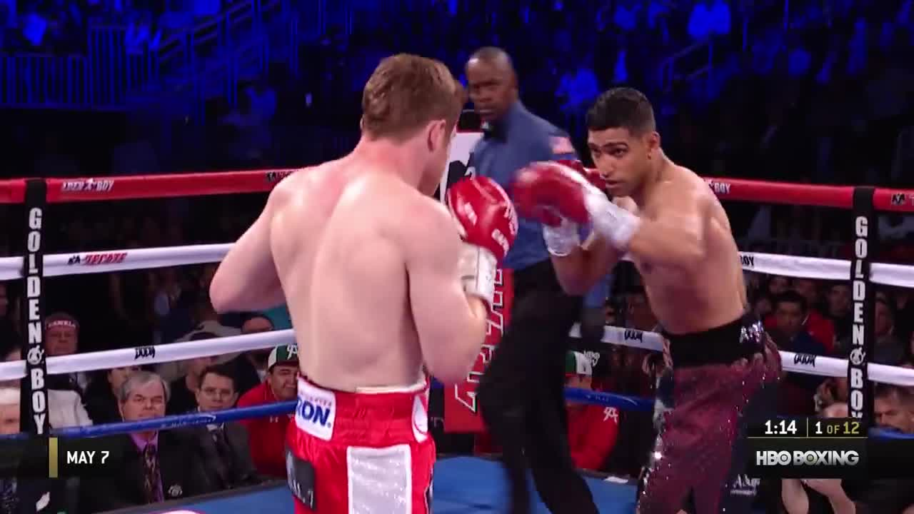 boxing, canelo, film & animation, full fight, hbo boxing, hboboxing, khan, ppv, sports, Canelo vs. Khan 2016 – Full Fight GIFs