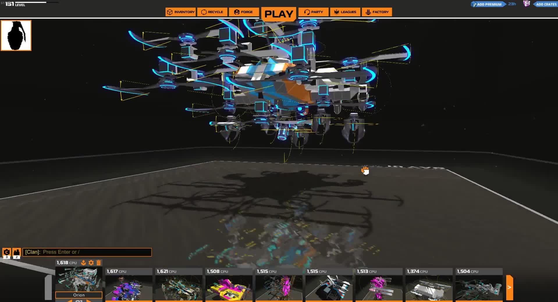 robocraft, Orion GIFs