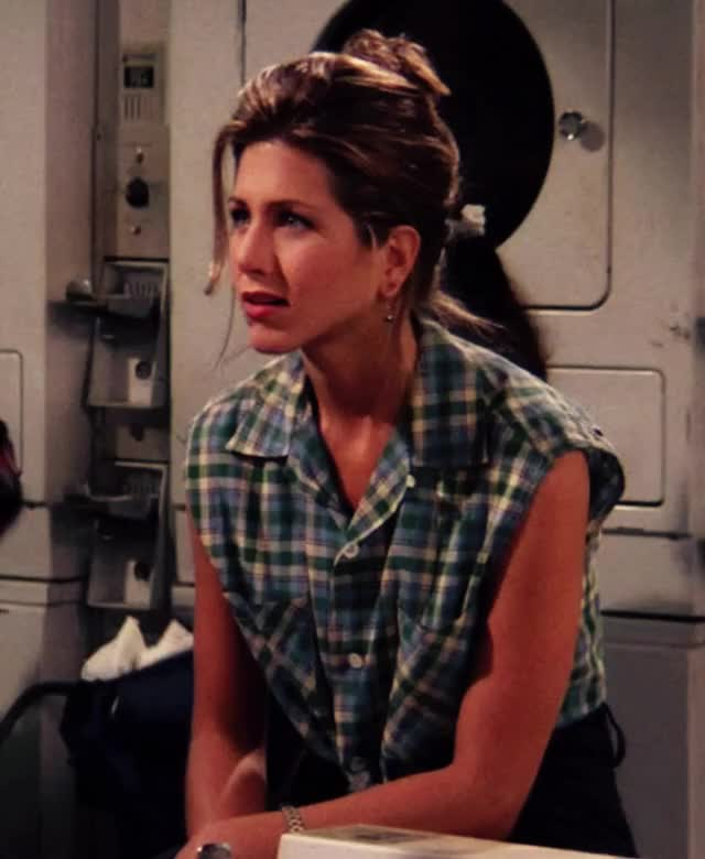 Watch and share Rachel Karen Green GIFs and Jennifer Aniston GIFs by Ans on Gfycat