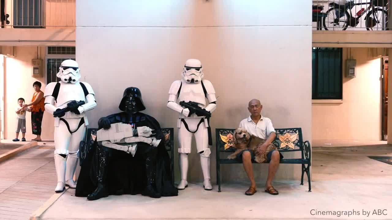 Star Wars Cinemagraphs GIFs