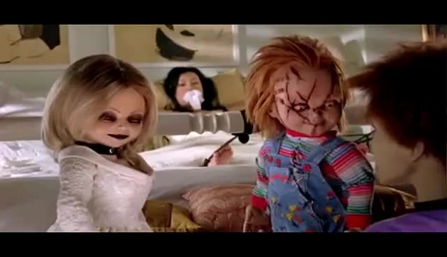 Watch and share Chucky GIFs on Gfycat