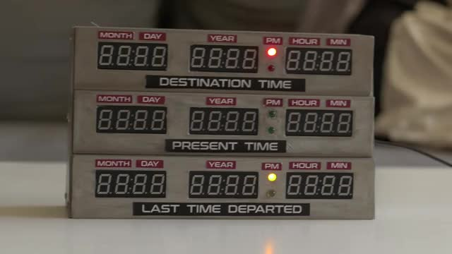 Watch and share Clock Delorean GIFs on Gfycat
